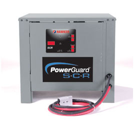 Power Guard SCR Forklift Battery Charger.